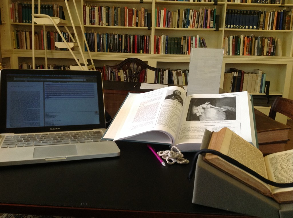 Working in the archives: Digital text, Critical Book, Archival Text