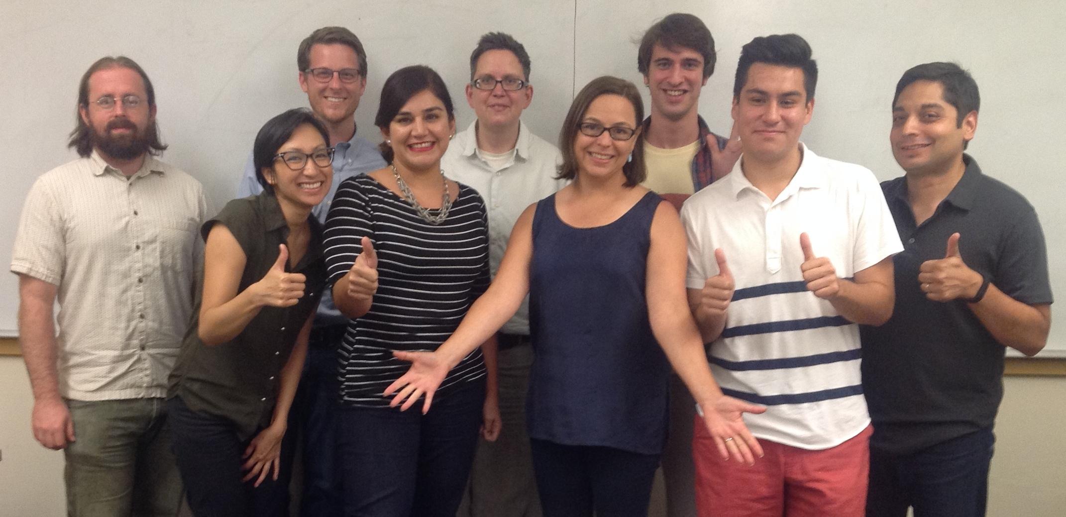 DigLibArts 2014-2015 Steering Committee