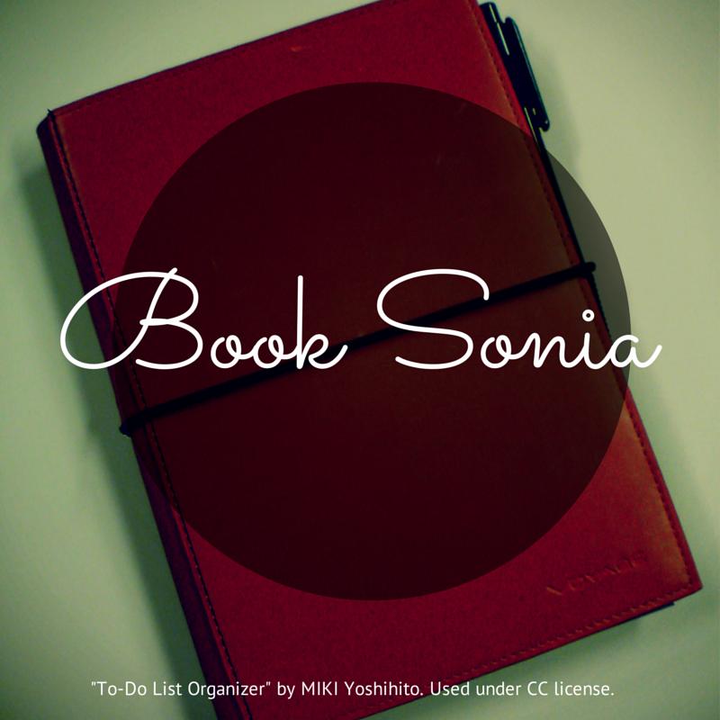 Book Sonia Icon