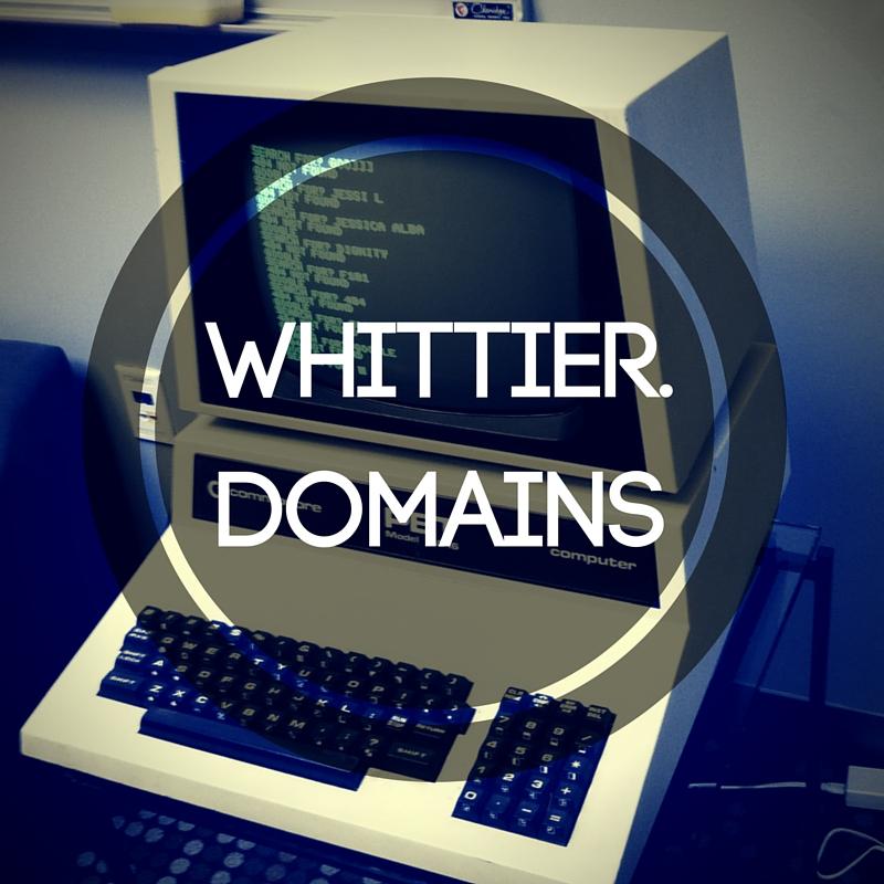Whittier.Domains