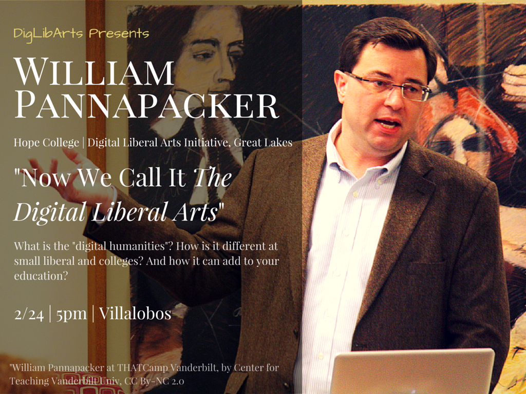 William Pannapacker flier