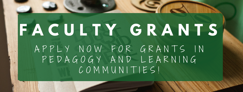 Faculty grant banner