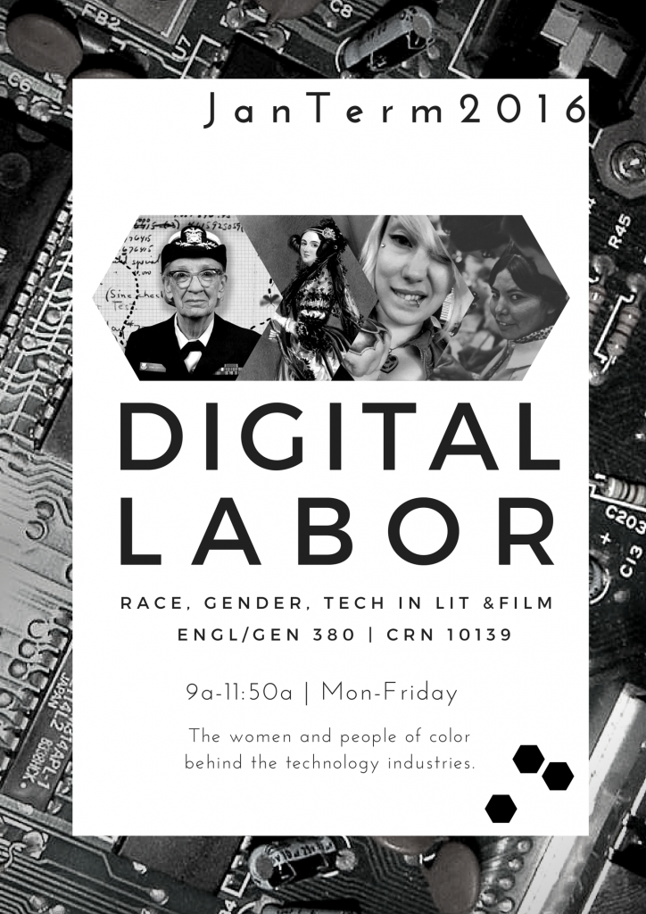 Digital Labor Course Flyer