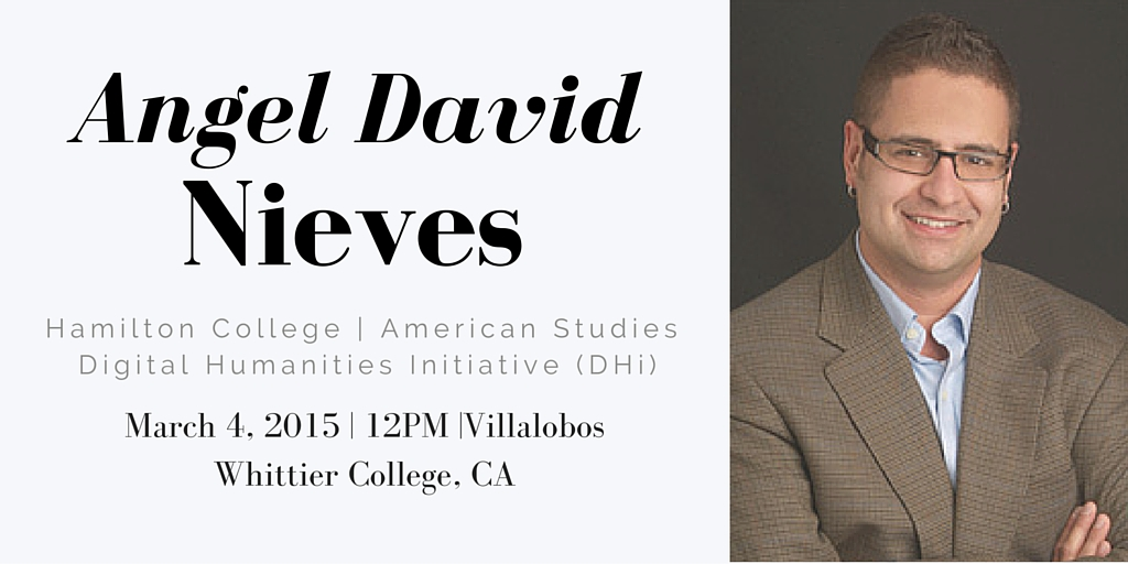 Poster for Angel David Nieves