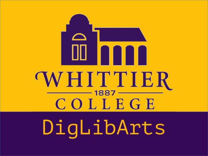 Whittier College DigLibArts Logo