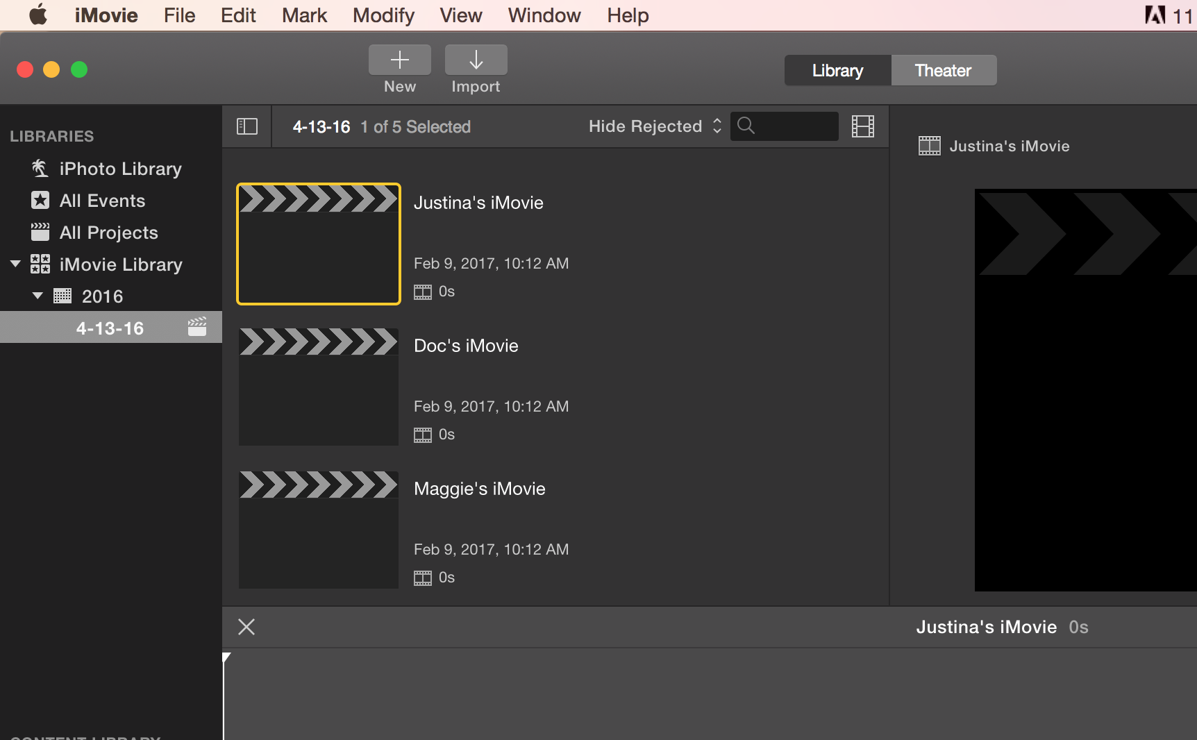 tutorial: using imovie version 10.0.6 – diglibarts