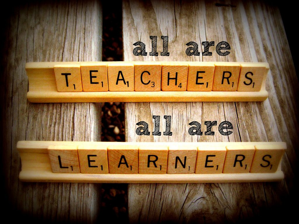 All are teachers, all are learners